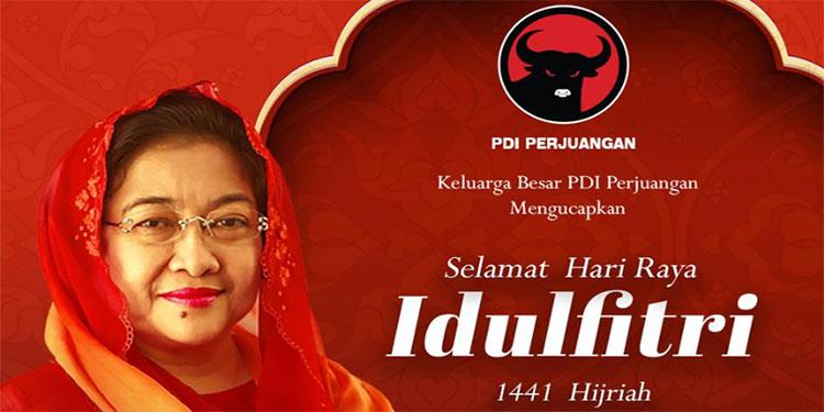 Tak Gelar Open House, Megawati Berlebaran dengan Putra-putrinya