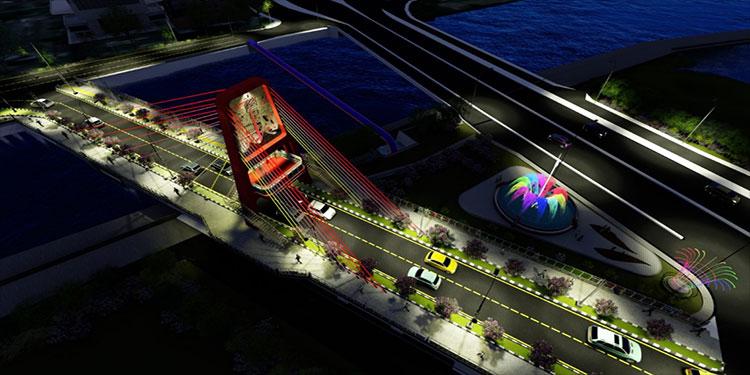 Baktiono Minta Pembangunan Jembatan Joyoboyo Dikebut