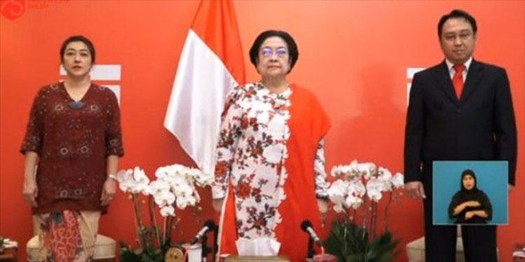 75 Tahun RI, Megawati: Masih Ada Pihak Pertentangkan Prinsip Bernegara Kita