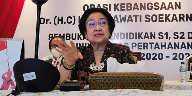 Orasi Kebangsaan di Program S3 Unhan, Ini Pesan Megawati