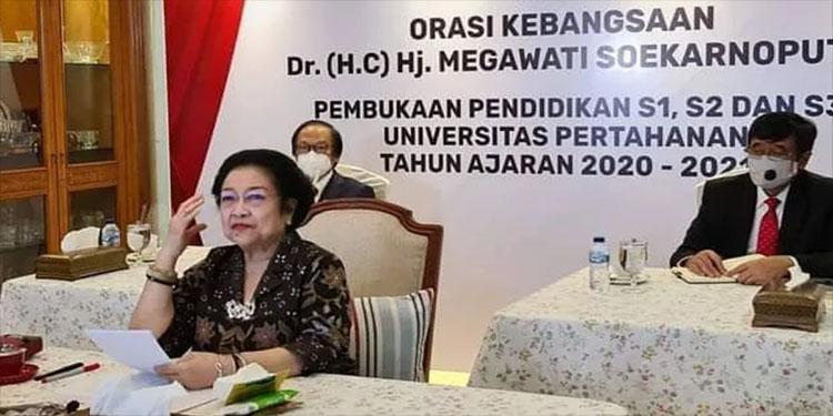 Mega Dorong Pengurus PDI Perjuangan Jadi Doktor Hingga Profesor