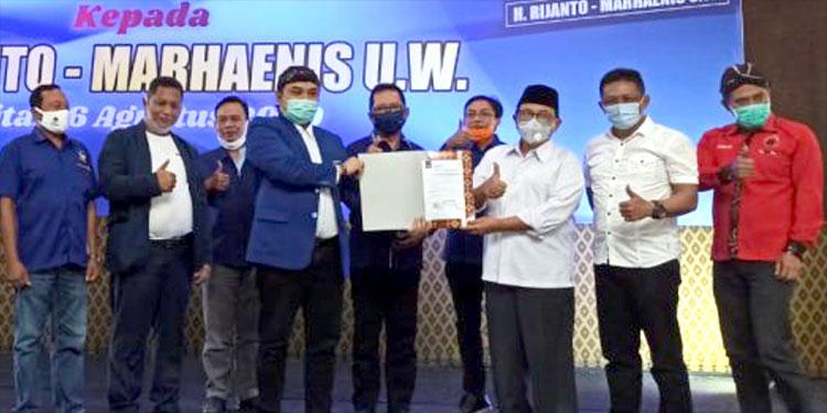 Nasdem Resmi Dukung Jago PDI Perjuangan di Pilbup Blitar