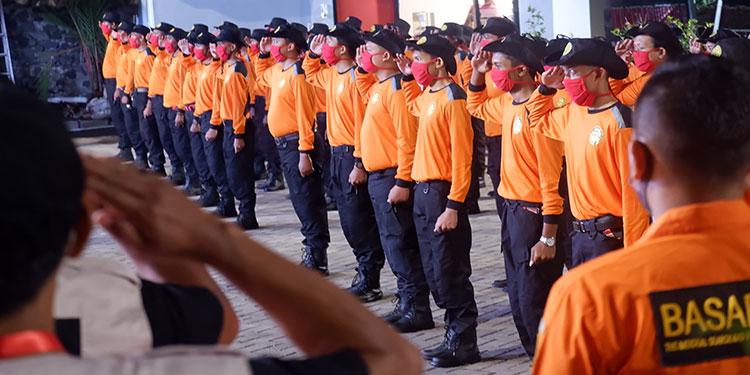 SAR Surabaya Apresiasi Kegiatan Diklatsar Baguna PDIP Jatim