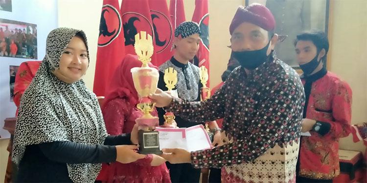 Lestarikan Budaya Lokal, BKN PDIP Nganjuk Gelar Lomba Mocopat dan Kidungan