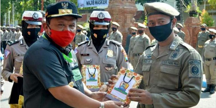 Lawan Corona, Wabup Nganjuk: Setiap Orang Wajib Punya Minimal 2 Masker