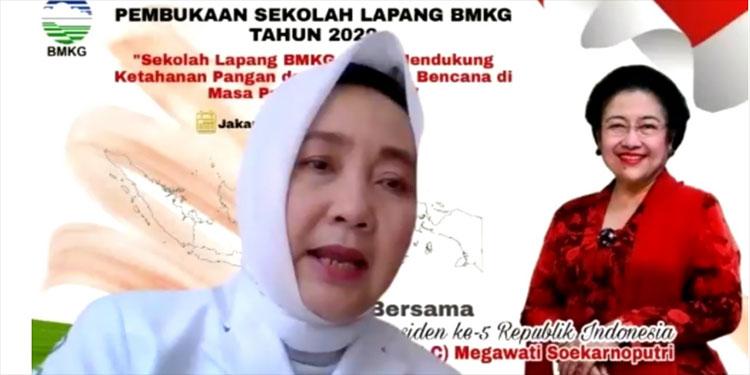 Megawati Minta BMKG Terus Update Peta Rawan Bencana untuk Kepentingan Ini