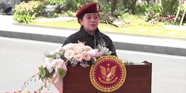 Di Sekolah Tinggi Intelijen Negara, Puan Ingatkan 'Dedication of Life Bung Karno'
