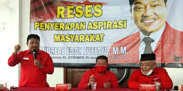 Mesin Politik Andreas di Malang Raya Siap Bergerak Menangkan SanDi