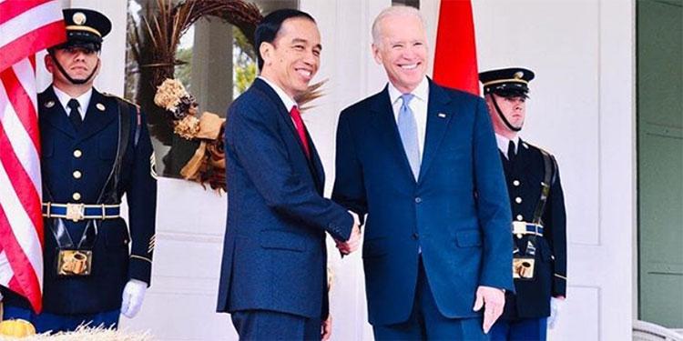 Ucapkan Selamat ke Joe Biden, Jokowi: Semoga Kita Bisa Segera Bekerja Sama