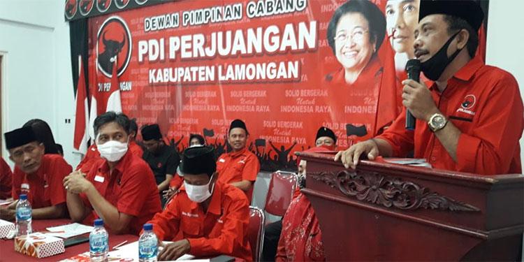 Gotong Royong Menangkan Karsa, DPC PDIP Nganjuk Merapat ke Lamongan