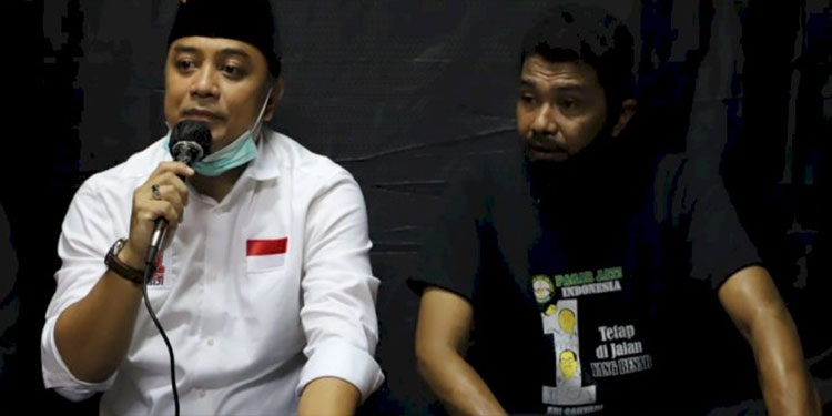 Bantah Dukung Machfud, Pagar Jati Loyalis Gus Hans Solid Bersama Eri Cahyadi